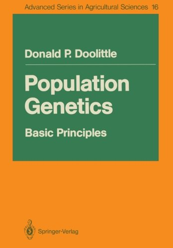 Population Genetics:: Basic Principles (Advanced Series in Agricultural Sciences)