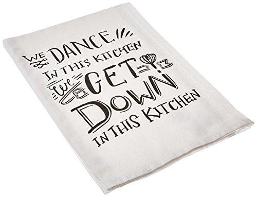 Dance Tea (Primitives by Kathy We Dance Tea Towel, 28-Inch by 28-Inch)