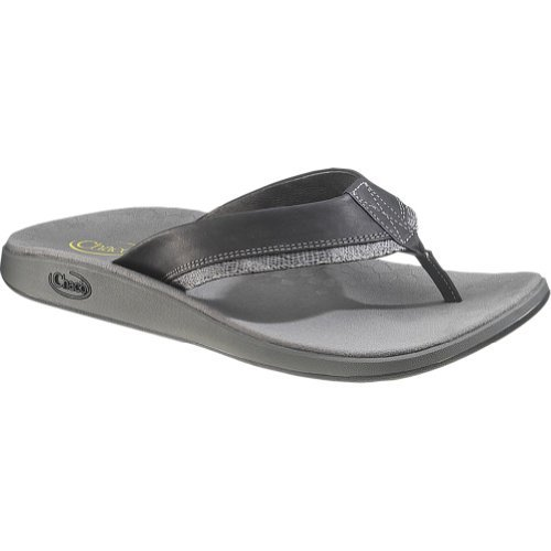 Chaco Men's Fontas Thong Sandals,Black,9 M