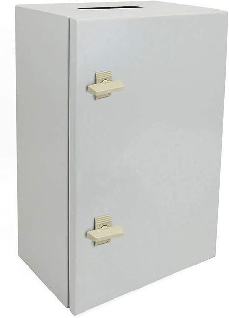 BeMatik - Caja de distribución eléctrica metálica con protección ...