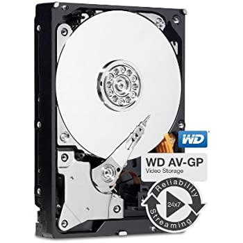 WD Purple 3TB Surveillance Hard Disk Drive -5400 RPM Class SATA 6Gb/s 64MB  Cache 3 5 Inch Model WD30PURX