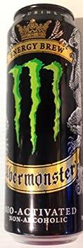 8 Pack - Uber Monster Energy Brew - 18.6oz