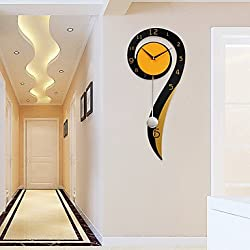 Quietness @ Modern Contemporary Houses Wall Clock,Others Metal Wood 2660cm Indoor Clock
