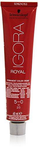 🥇 Schwarzkopf Professional Igora Royal 5-0 Tinte – 60 ml