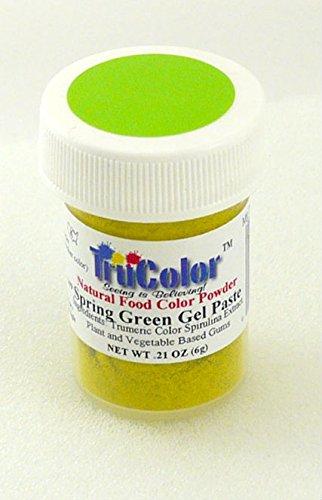 TruColor Natural Gel Paste Powder (Lg. Jar) Spring Green Gel Paste