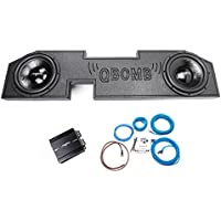 2002-2012 Dodge Ram Quad Cab Dual 12 800 Watt Complete Skar Audio Bass Package with Armor Loaded Enclosure and Amp