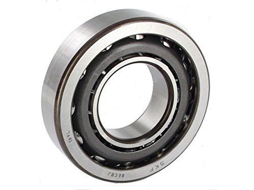 Steel Cage Single Row Explorer 40 mm Bore 90 mm OD SKF 7308 BECBJ Angular Contact Ball Bearing
