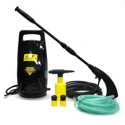 ベルソス 高圧洗浄機(洗剤タンク付) ブラック VS8100-BK B0010WZUOS