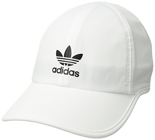 - adidas Women's Originals Trainer II Relaxed Cap, White/Black, One Size