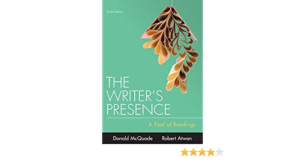 the writers presence 9th edition