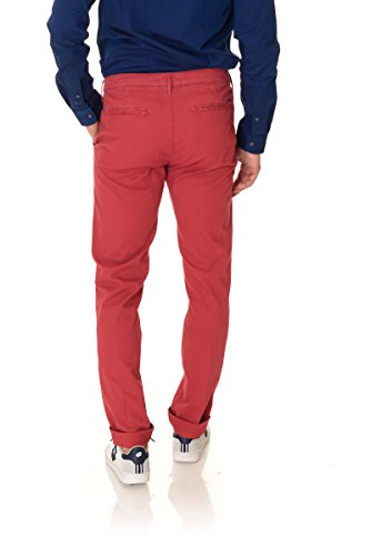 Pantalone uomo Zero Construction rosso