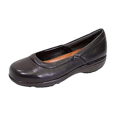 Peerage Vicky Women Wide Width Casual Comfort Leather Loafers