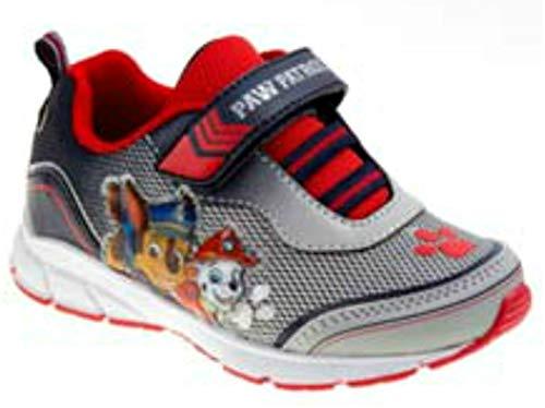 Patrol Shoes Sneaker - Josmo Kids Baby Boy's Paw Patrol Mesh Sneaker (Toddler/Little Kid) Grey/Red 8 M US Toddler