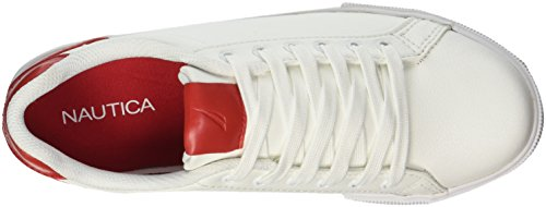 Nautica Damessnappers Pop Sneaker Rood