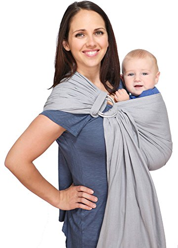 Maya Wrap ComfortFit Ring Sling - Slate - Medium