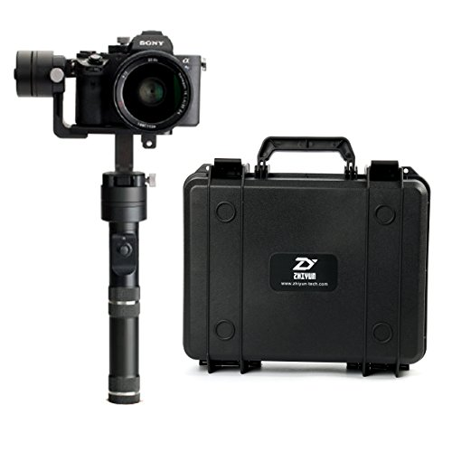 ZHIYUN Crane V2 3-Axis Handheld Gimbal for DSLR & Mirrorless Cameras, CNC Aluminum Alloy Construction w/ 360° Degree Brushless Motors