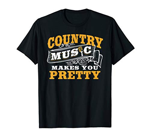 - Country Music Sarcasm tshirt Southern Humor Chick