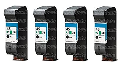 DS 4 51645 A 45 negro impresora cartucho de tinta para HP ...