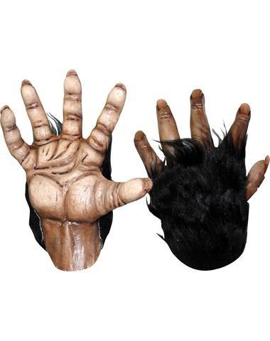 [Gorilla Händschuhe Für Erwachsene Halloween] (Chimp Hands Costume)