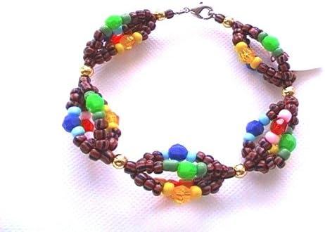 Ilde de Oya IFA Yoruba bracelet Santeria Lucumi