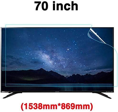 DPPAN 70 Pulgadas Anti Luz Azul TV Protección de Pantalla para ...