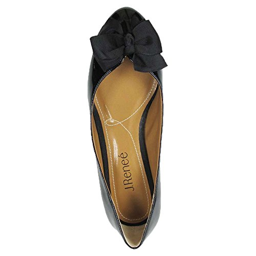 J Classic Closed Renee Black Pumps Synthetic Womens Cameo Toe qRUAq
