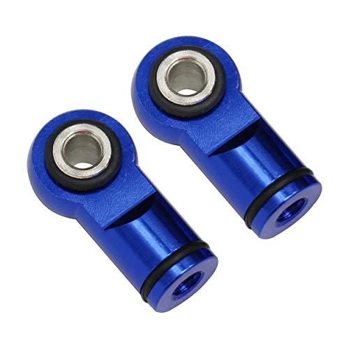 - Hot Racing RVO154M06 Blue Ball Type Aluminum Shock Ends