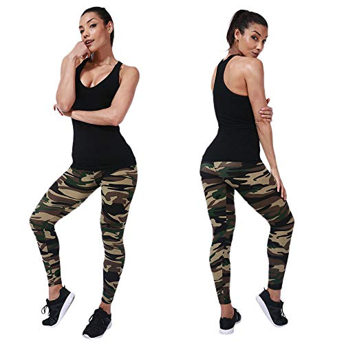 - HYIRI Lift Super Women's Casual Camouflage Cargo Long Pants for Outdoor Sports