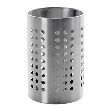 Ikea Ordning Portautensili da Cucina, Acciaio Inossidabile, Argento