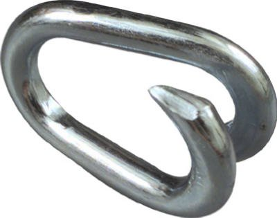 National #N223-081 1/4'' Zinc Lap Link