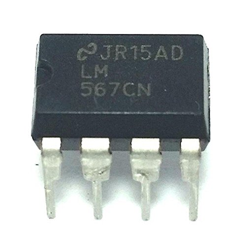 National Semiconductor LM567CN Tone Decoder (Pack of 5)