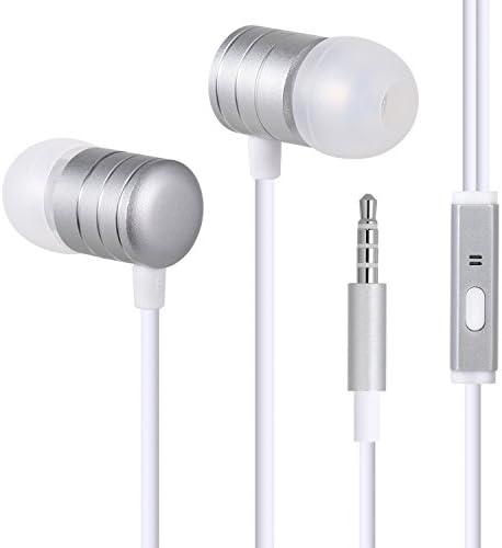 [해외]? 유선 헤드폰 인이어 이어버드 이어폰 노이즈 캔슬링 방수 스포츠 이어폰 헤드셋 폰 66s 플러스5sSE 갤럭시 태블릿용 스테레오 사운드 / Amoner Wired Headphones, in-Ear Earbuds Earphones,Noise Cancelling Waterproof Sports Earphones Headset...