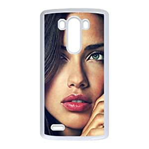 LG G3 Cell Phone Case White Victoria Secret Model Adriana Lima BNY_6880513