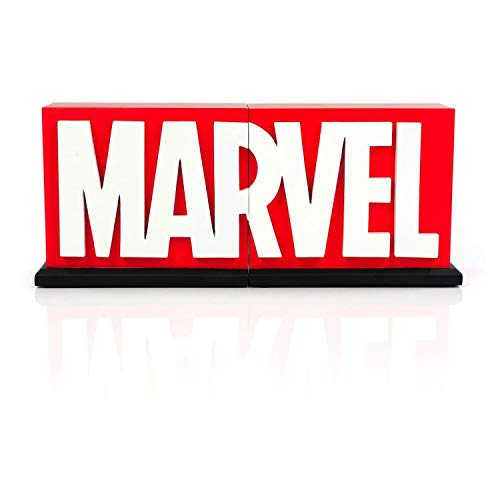 MARVEL Logo Bookends Statue