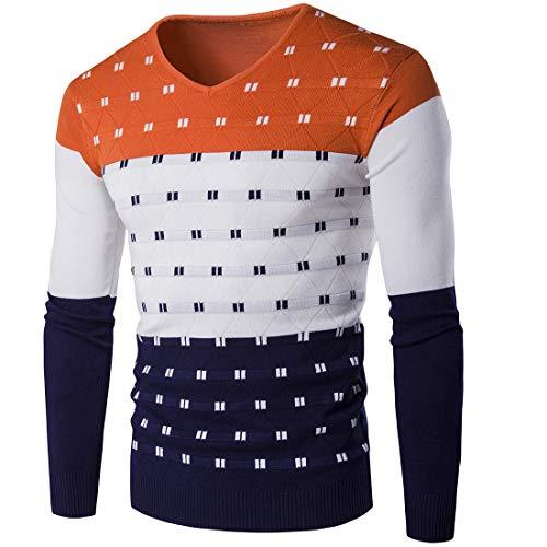 Suéter Invierno Slim Orange Larga Los Otoño Redondo Mantener Manga Caliente  Bottoming Prendas De Camisa Joey E Hombres Cuello Punto F7dFqw f1d2b08a3b7