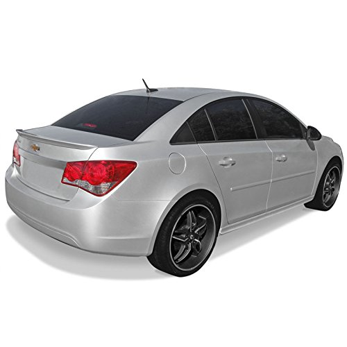 CRUZE Factory Style Flush Mount Spoiler for Chevrolet Cruze - MATTE BLACK (MB)