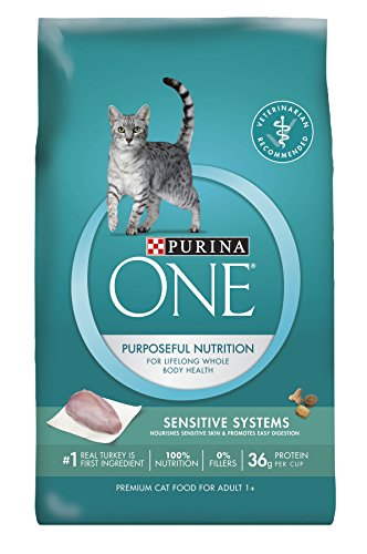 Purina ONE Sensitive Systems Dry Cat Food 41g IfXOLLL