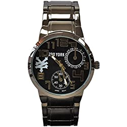 Zoo York - Men's Gunmetal and Goldtone Bracelet Watch
