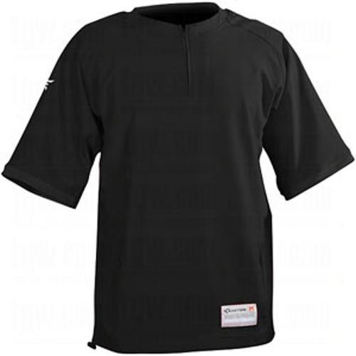 Easton Men's Short Sleeve M9 Cage Jacket, Black, Small