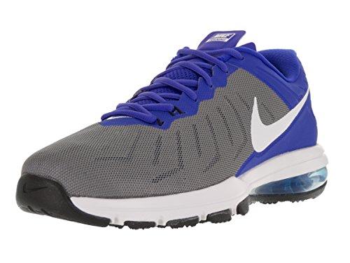 Nike Herren Air Max Volle Fahrt TR Cross Trainer Cool Grey / Racer Blau / Schwarz / Weiß
