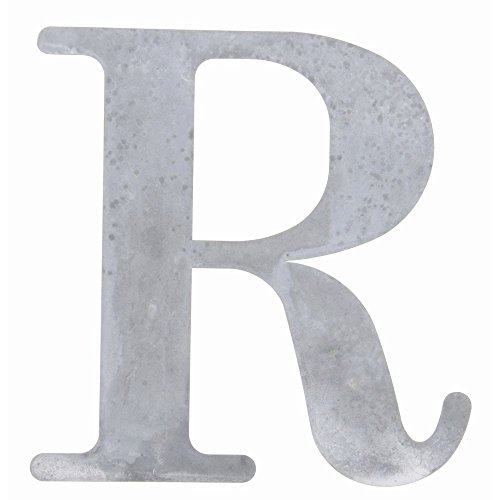 - Tin Letter Weather Grey Metal
