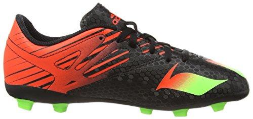 adidas Messi 15.4 FxG J, Botas de Fútbol Para Niños Negro (Black)