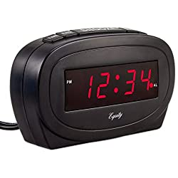 Equity by La Crosse 30228 LED Alarm Clock