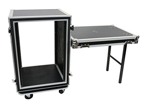 OSP Cases | ATA Road Case | Shock-Mount | 16-Space Amp Rack | 20