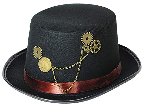 Jacobson Felt Steampunk Top Hat -