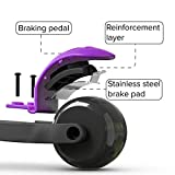 6KU 3 Wheels Kick Scooter for Kids and Toddlers