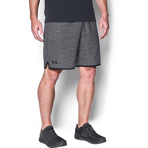 Under Armour Men's Qualifier Printed Shorts, Graphite, Medium