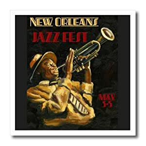 ht_173886_2 Florene - Vintage Music - image of new orleans jazz singer - Iron on Heat Transfers - 6x6 Iron on Heat Transfer for White Material