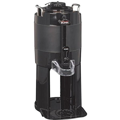 Bunn 44000.0001 TF 1 Gal Black ThermoFresh Server with Attached Base (Server 1 Thermofresh Gallon)