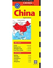 China Travel Map Eighth Edition